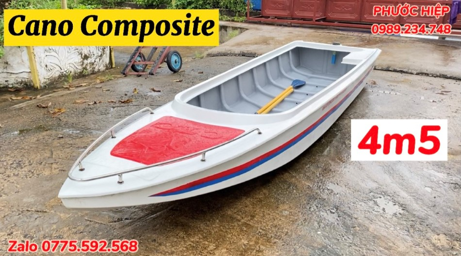 Cano du lịch composite giá rẻ